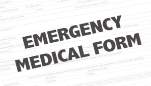 Emergency Medical Form | Lakeside For Youth