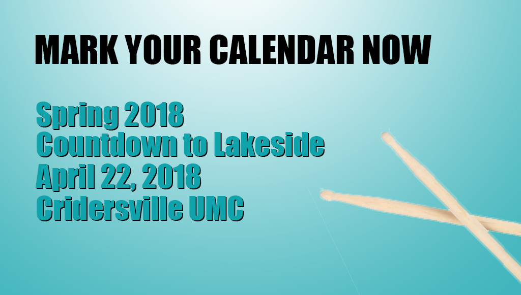 Spring 2018 Countdown to Lakeside at Cridersville UMC