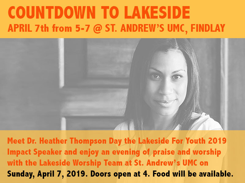 Countdown to Lakeside April 7, 2019