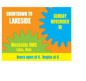 November 10 2019 Fall Countdown to Lakeside at Westside UMC