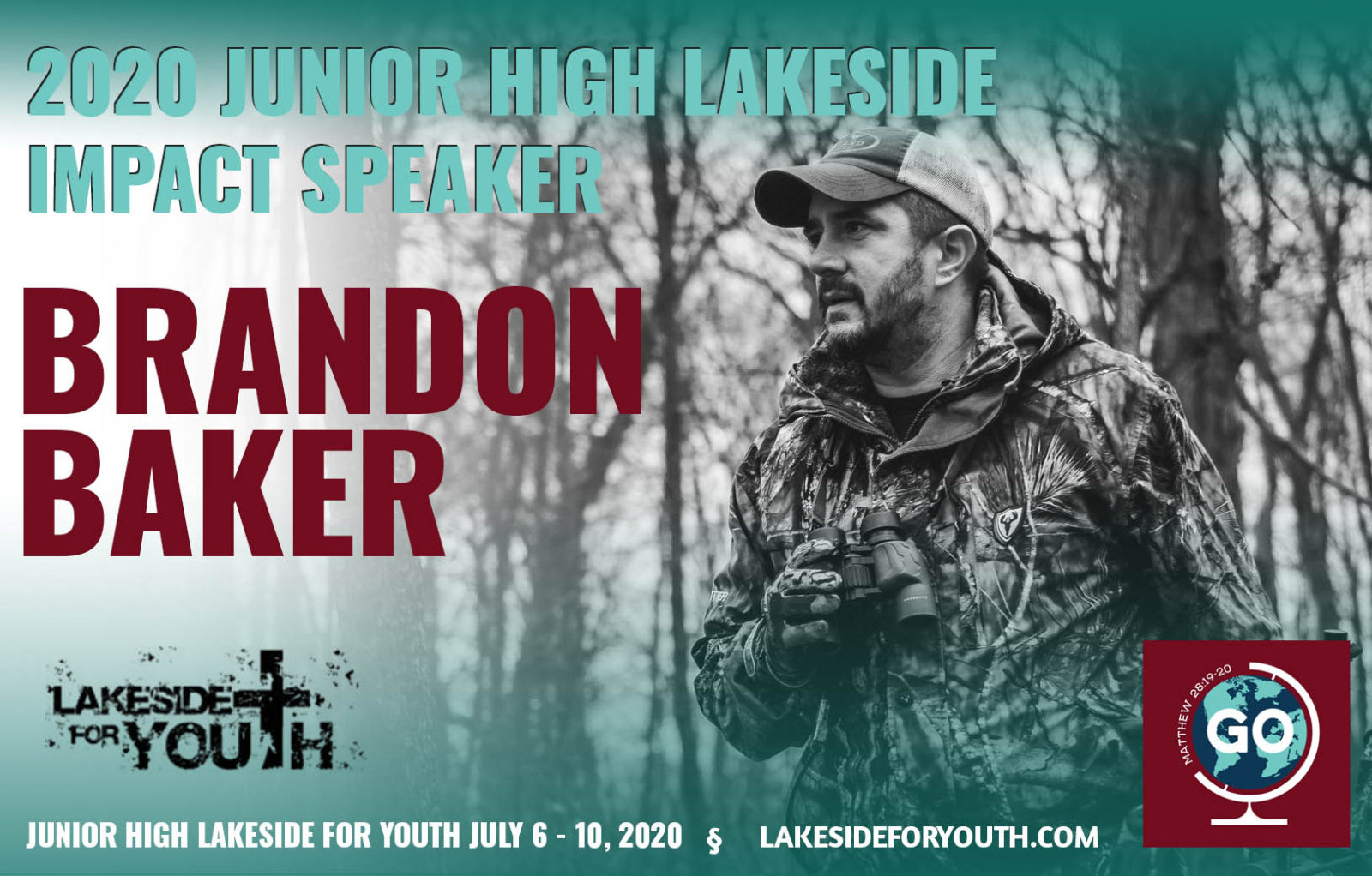 Brandon Baker Lakeside Junior High Impact Speaker 2020